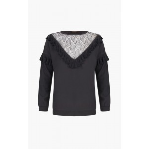 Supertrash tassel blouse