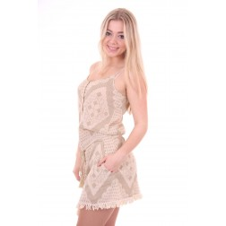 By Danie dress aztek cream