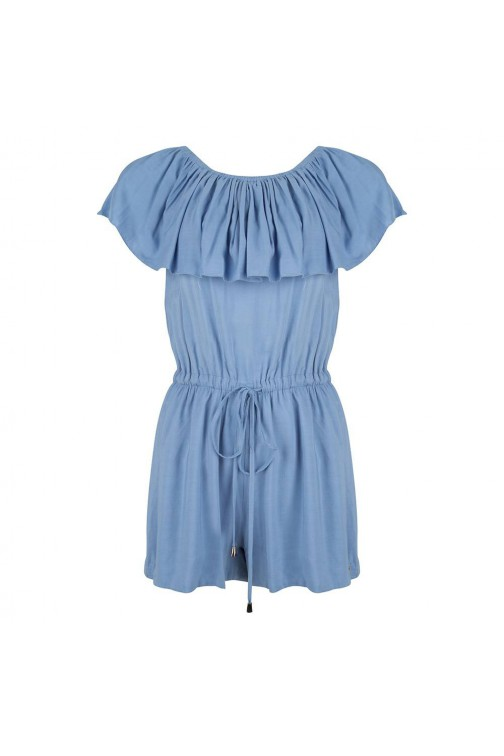 Jacky Luxury denim playsuit