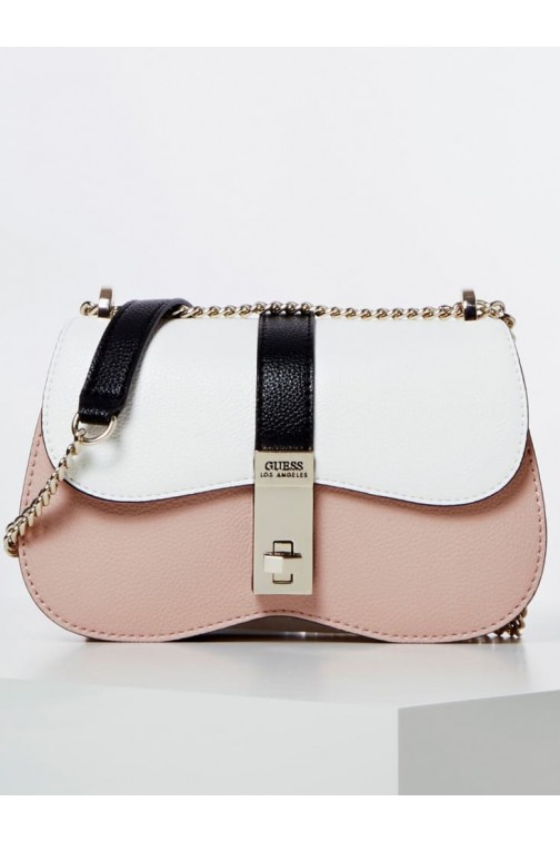 Guess Asher bag - rose-wit