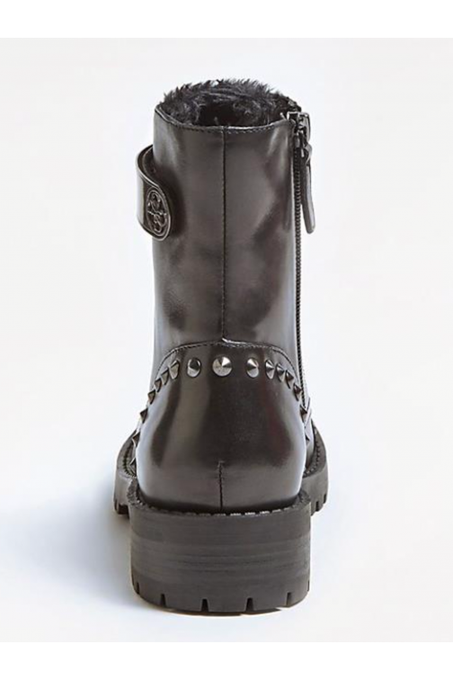 Guess Haleigh bikerboots - gun metal