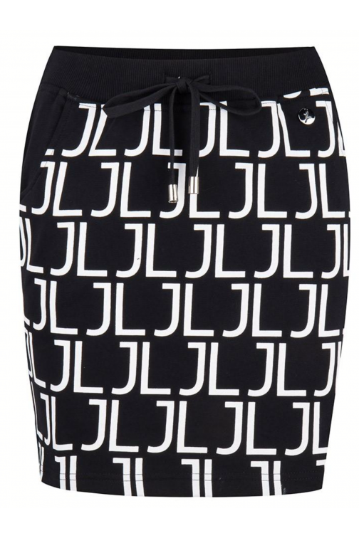 Jacky Luxury logo skirt - JL Logo
