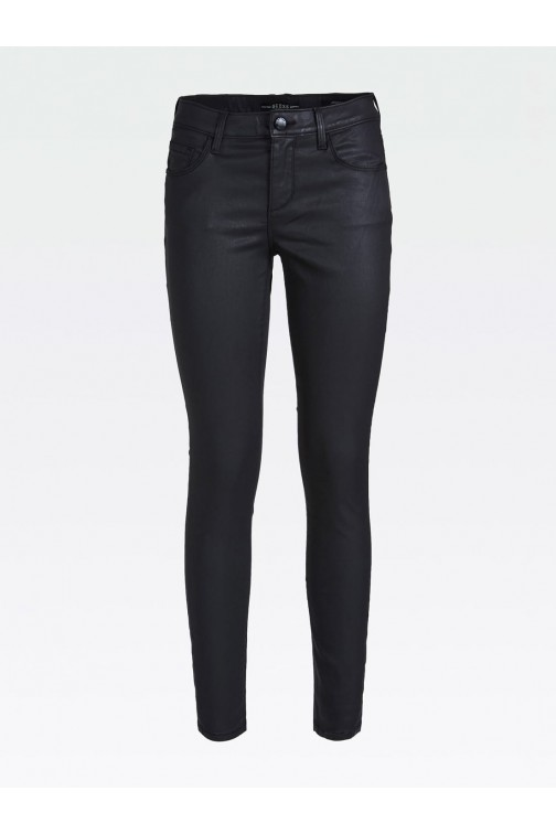 Guess Annette skinny jeans black coated