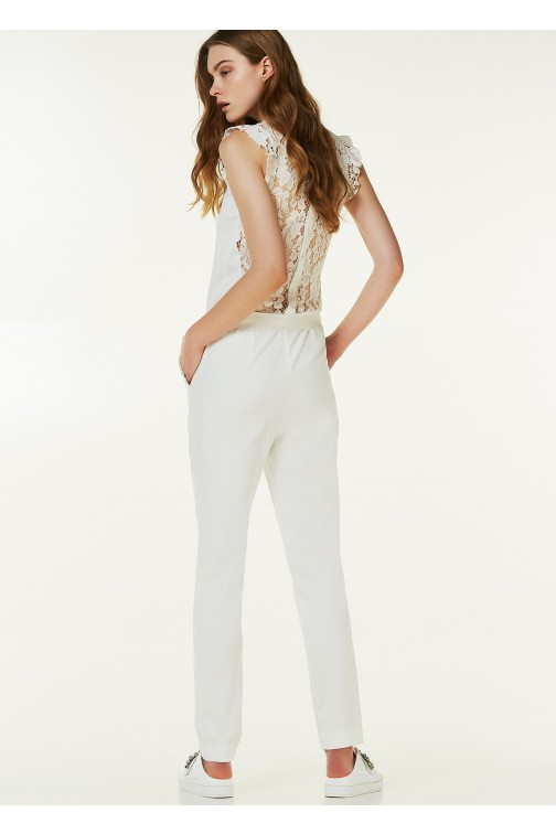 Liu Jo jumpsuit in wit
