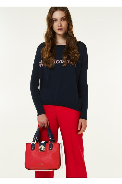 Liu Jo jumper in navy