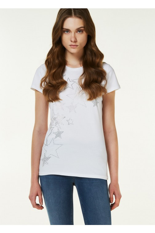 Liu Jo t-shirt ANGELIE in wit