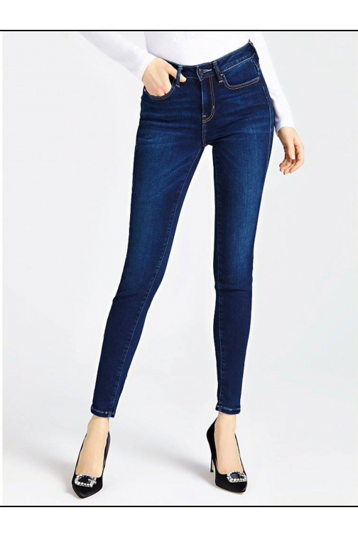 Guess high waist jeans high waist in dark denim
