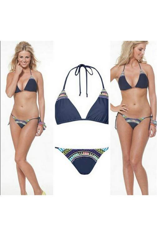 B loved triangel bikini jewels