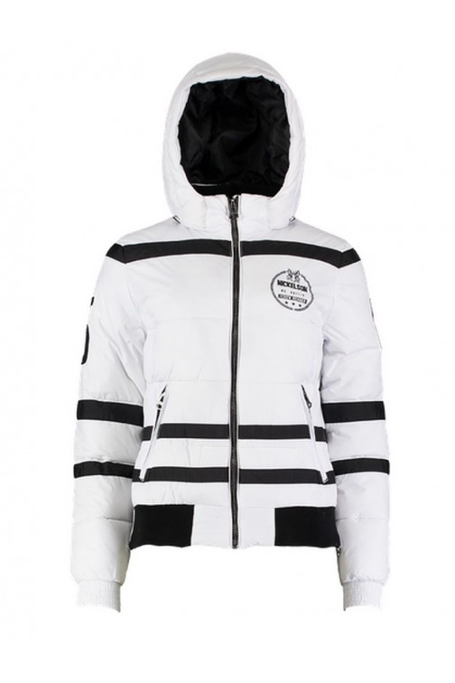 Nickelson Bobby winterjacket in White&Black