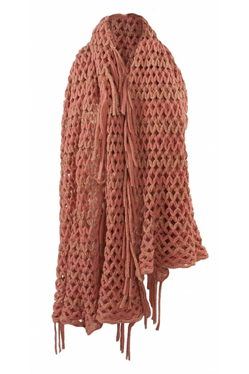 Knitted Scarf in pink Jacky Luxury