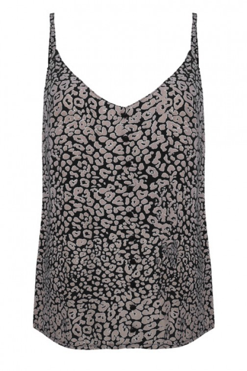 Voyar la Rue Uni top in leopard