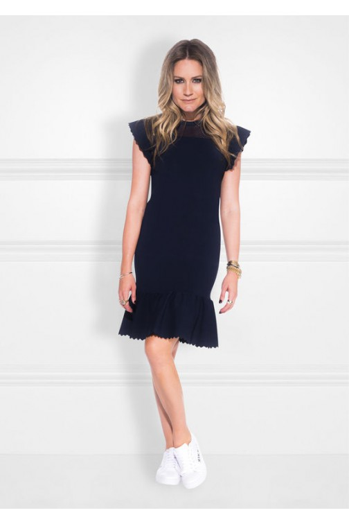 Nikkie Janai dress in navy