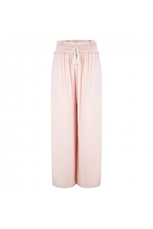 Jacky Luxury Pallazo pants - nude.