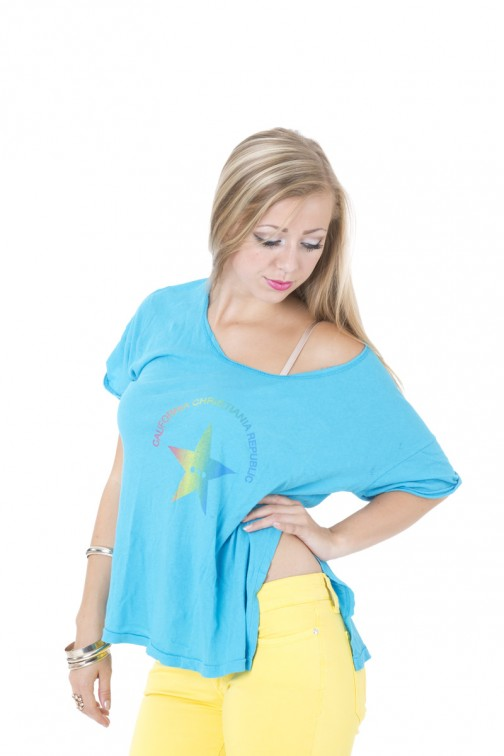 CCR brand star shirt in Blue