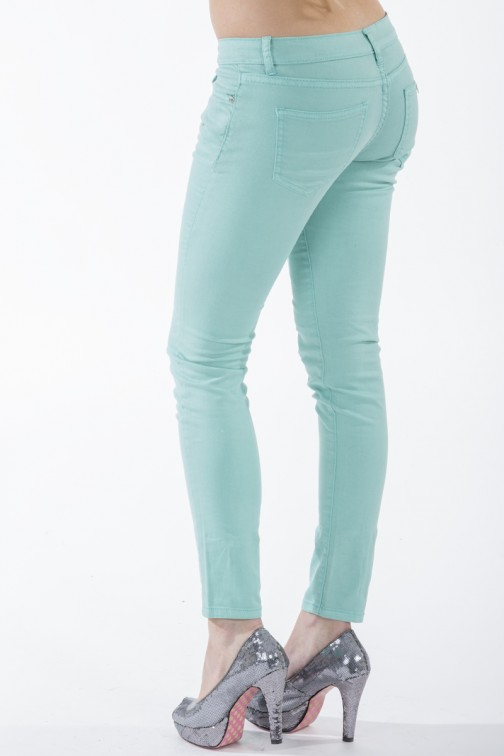 Mint jeans van Jacky Luxury.