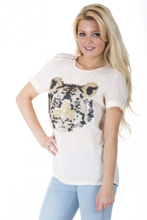 Sale Picture Perfect; Picture PerfectShirt met tigerhead