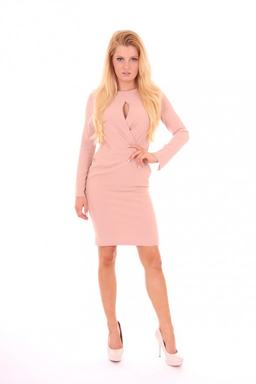 Miss Money Money Dress in soft Pink