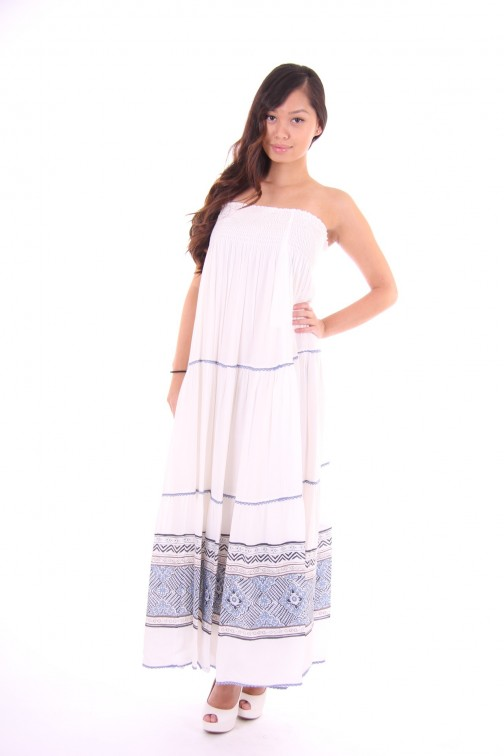 Kocca bohemian white dress