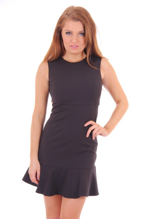 Fracomina black Dress open back