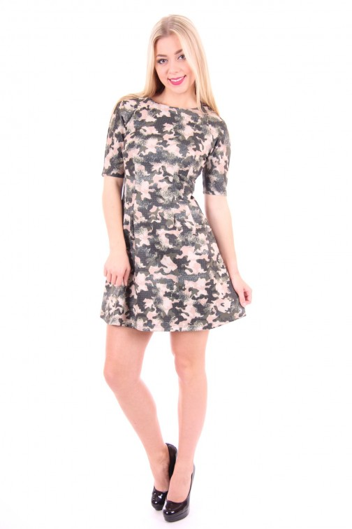 print dress van Kocca