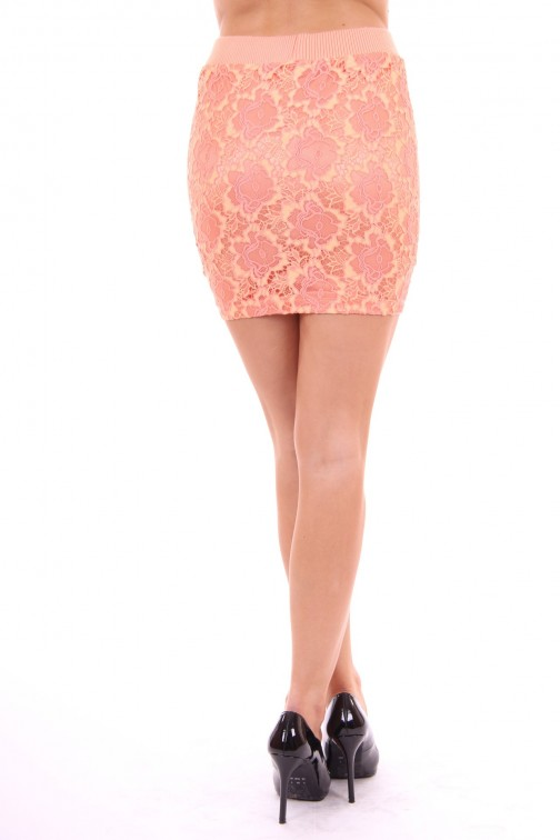 Given Skirt coral lace