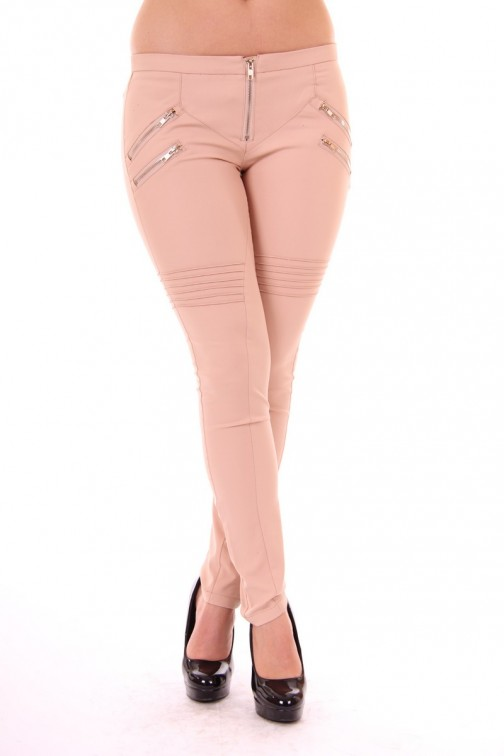 Nude Biker broek Picture Perfect