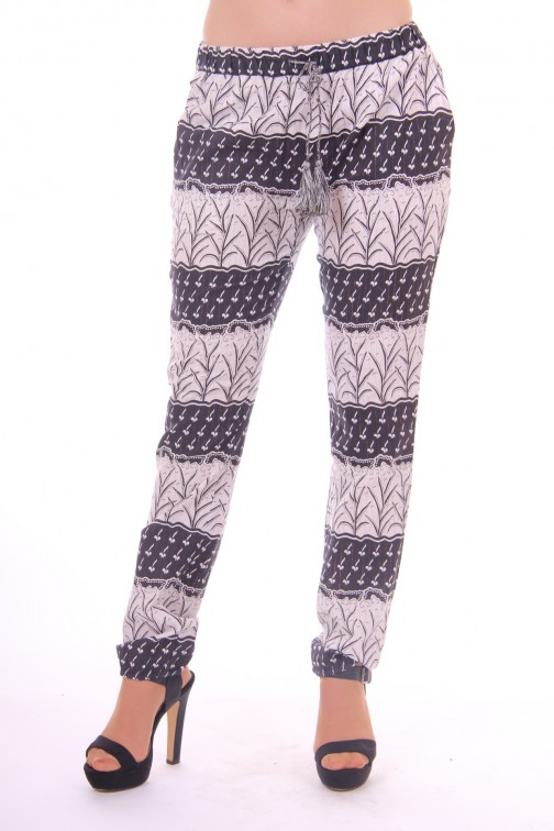 By Danie pants Black&White boho