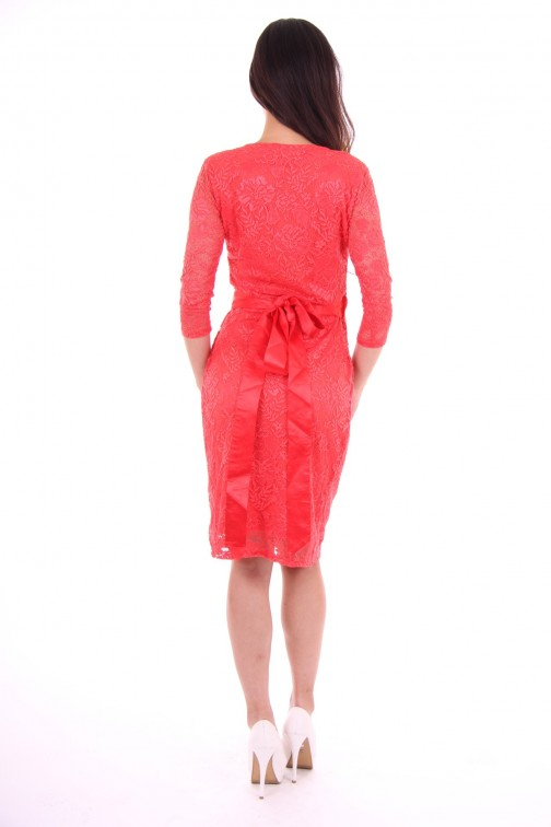 Its Given lace dress Coral Starr