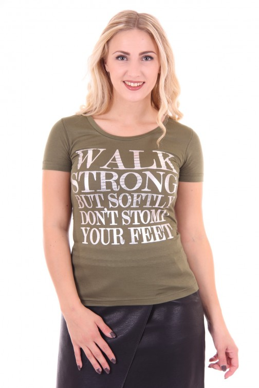 Jacky Luxury shirt, Walk strong in army