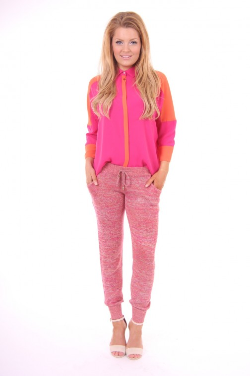 Josh V Jolyn pants Fuchsia