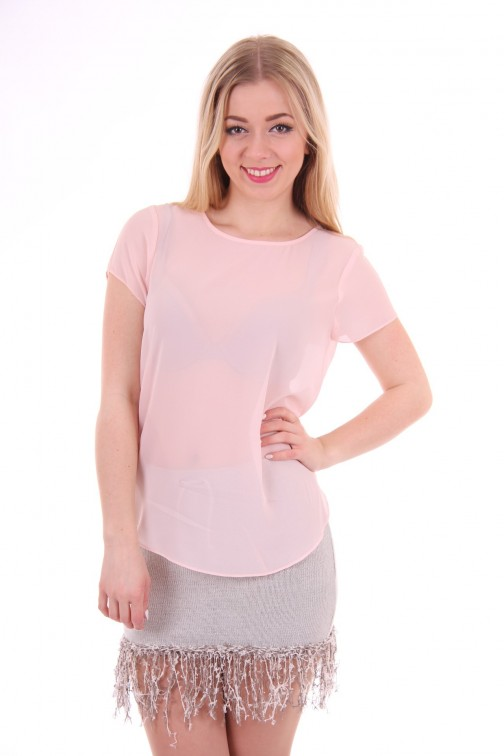 Silvian Heach light pink top