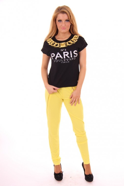Given Keira pants yellow