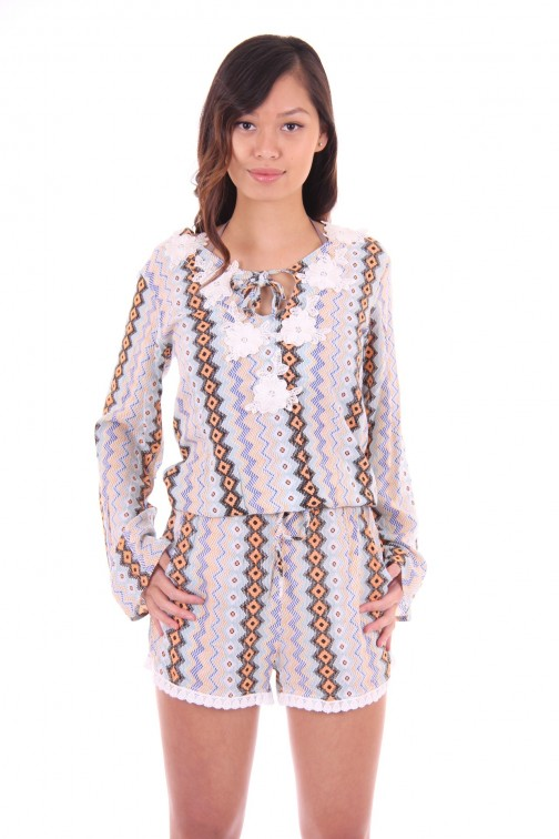 Labee a Porter bohemian top