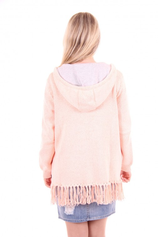 Goldbergh poncho Cardigan peach