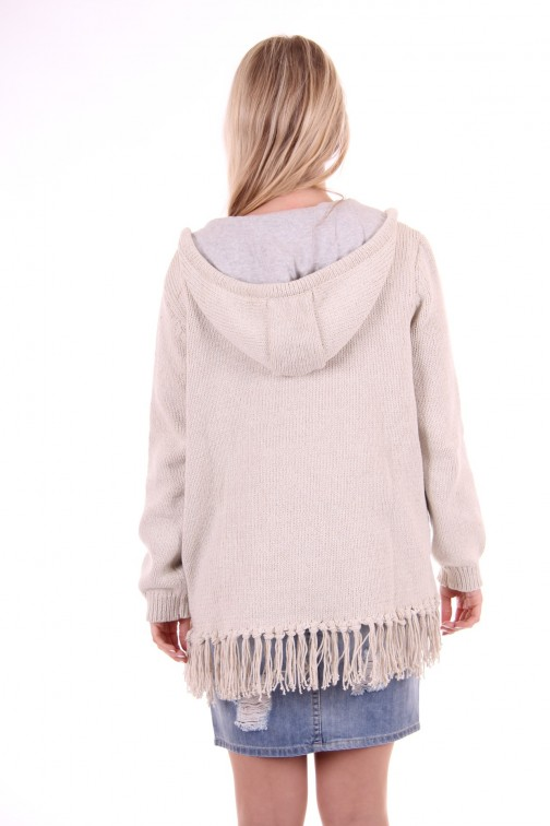 Goldbergh poncho Cardigan grey