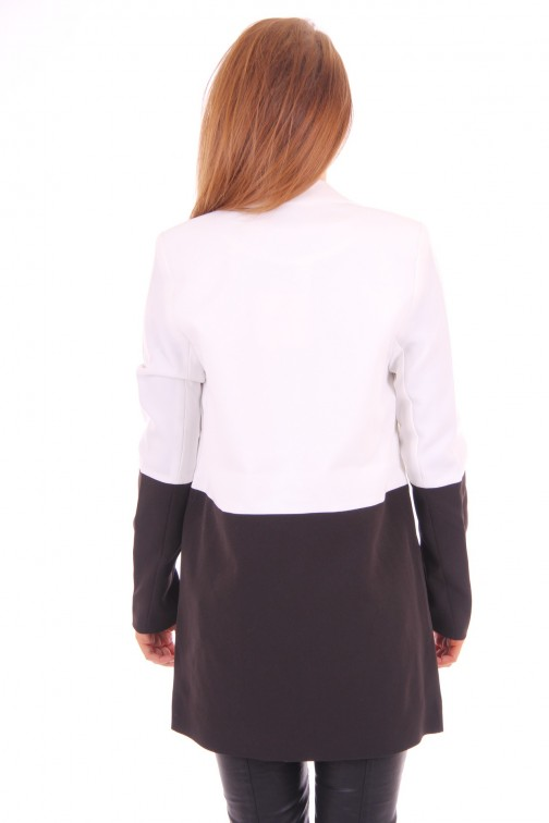 Tailor & Elbaz Black&White Blazer long