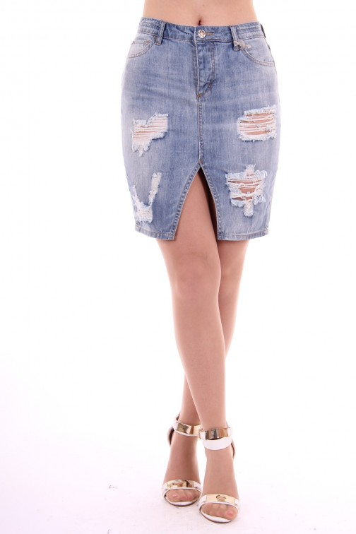 Silvian Heach denim skirt