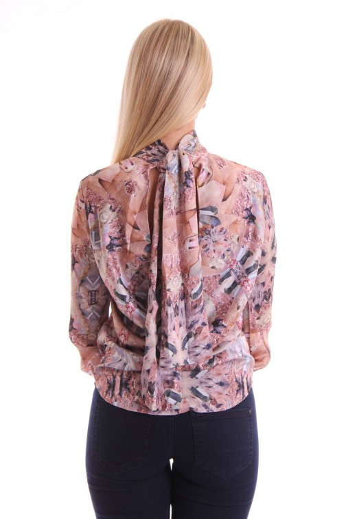 Josh V blouse in crystal print SIMOON
