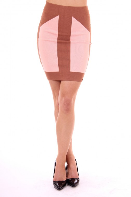 Josh V pencil Skirt nude