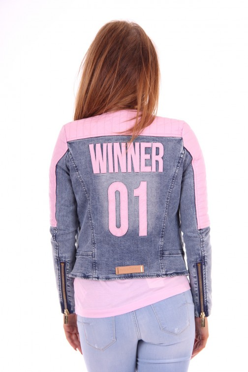 Tailor & Elbaz Winner jacket pink leather