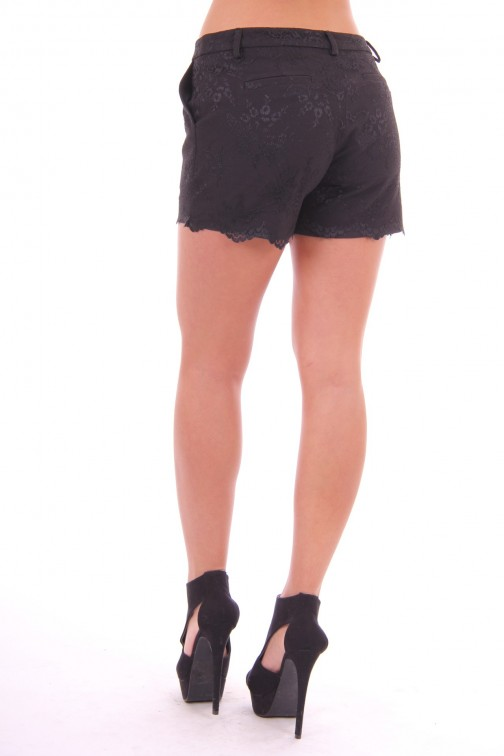 G.sel short black lace