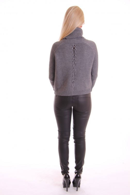 Supertrash knitted sweater grey