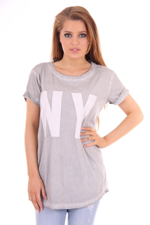 Goldberg oversized Shirt grey