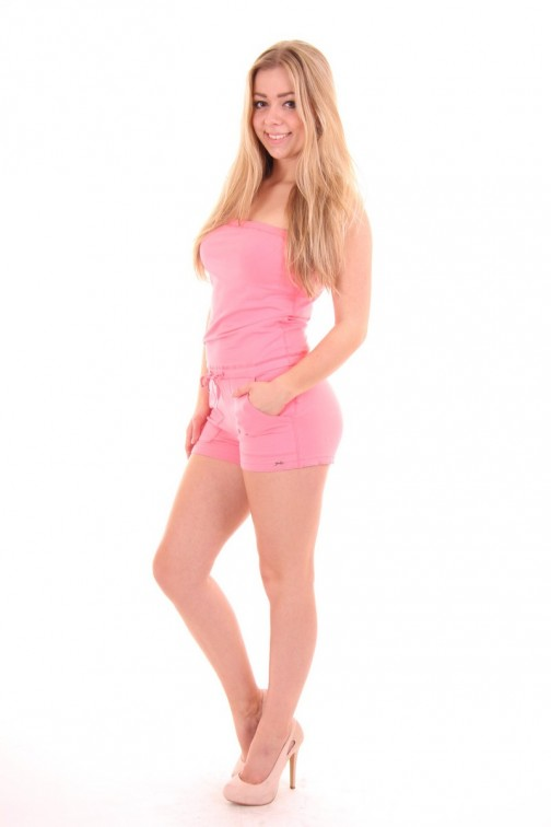 Jacky Luxury Playsuit in Pink