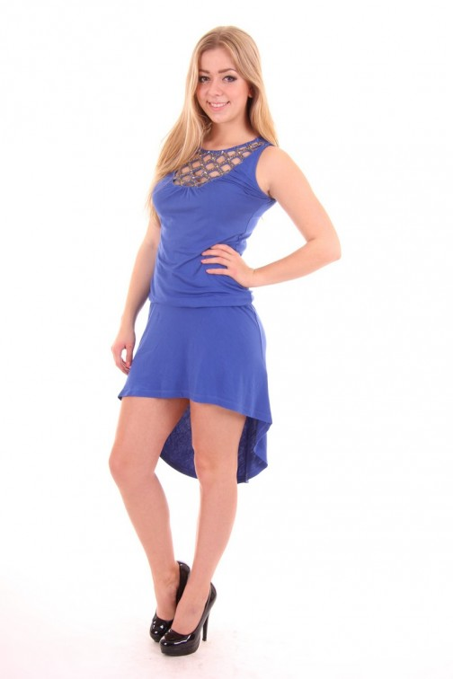 Fracomina dress in Cobalt Blue