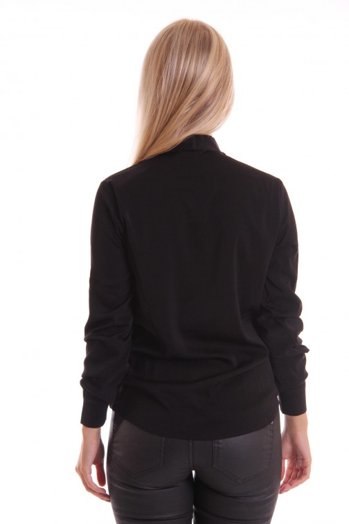 Labee blouse in zwart KANE
