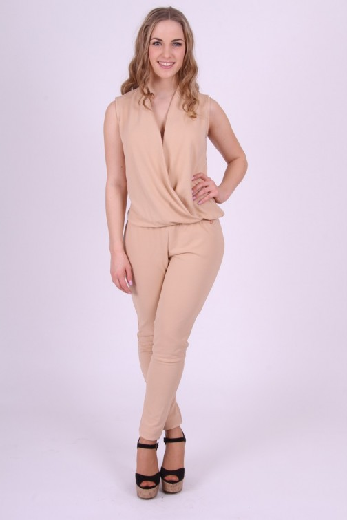 Nude Jumpsuit met kant Given