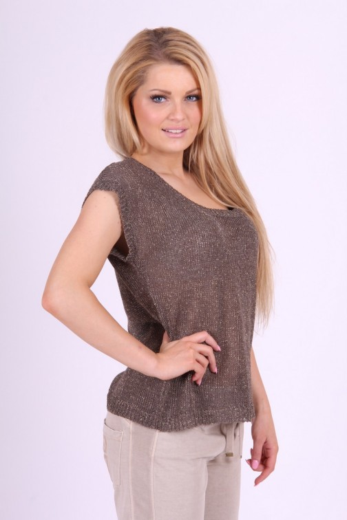 Goldbergh knitted Sweater in taupe