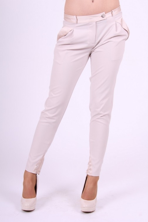 Gaudi business Pants in cream