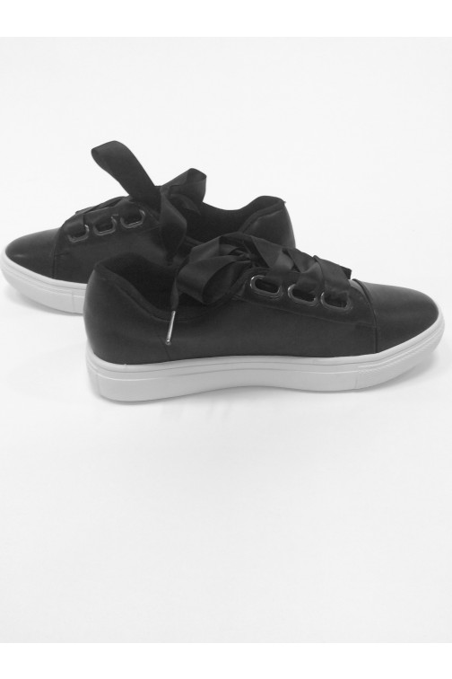 Jacky Luxury sneakers met linten